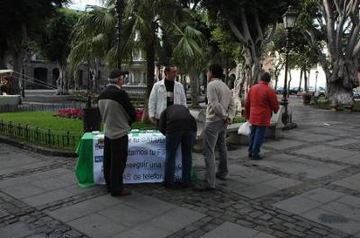 COMIENZA LA RECOGIDA DE FIRMAS PARA REGULAR LAS ANTENAS DE TELEFONÍA MÓVIL