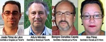 LOS VERDES PRESENTAN LAS CANDIDATURAS AL CONGRESO Y EL SENADO